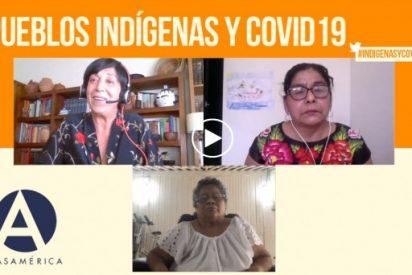 """Casa de América-Debate:""""La pandemia podría implicar la desaparición de pueblos indígenas"""""""