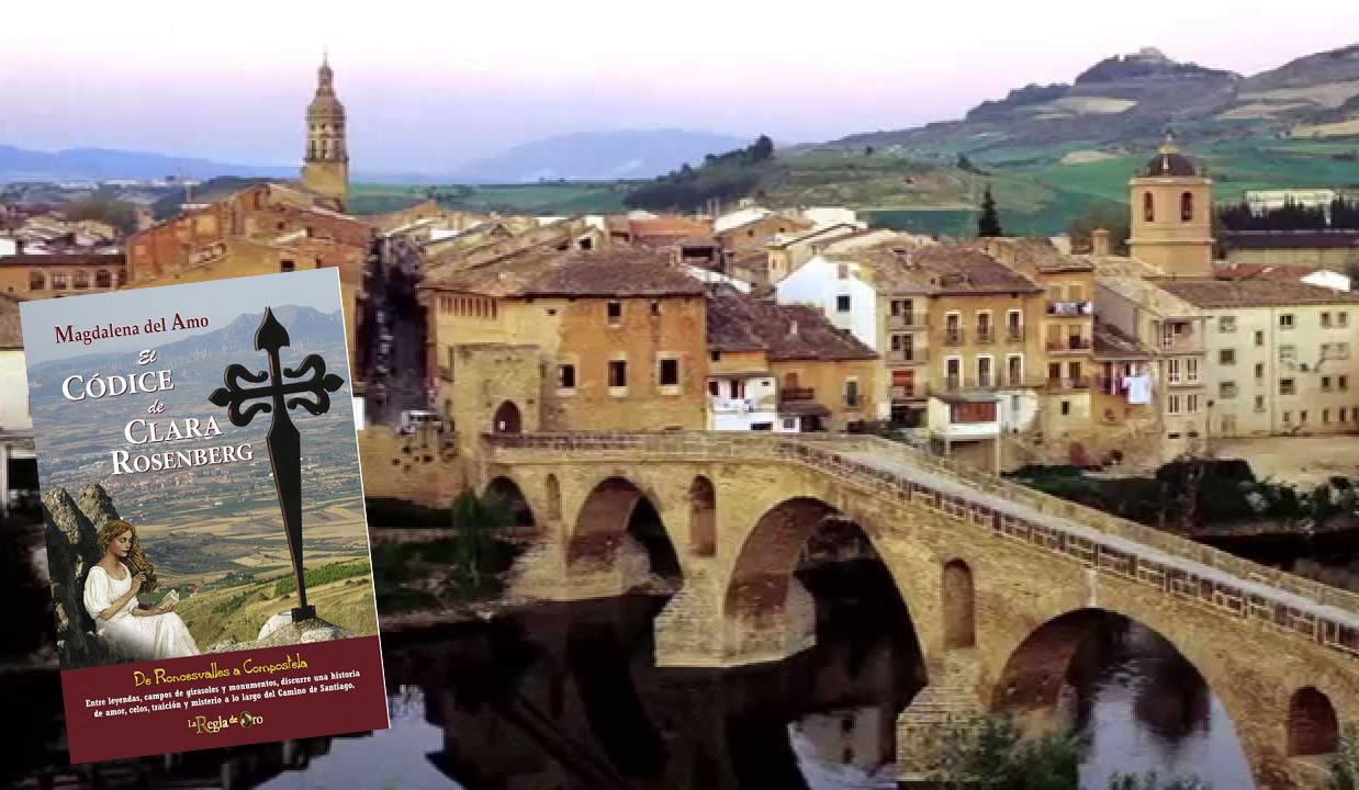 En el Día del Apóstol, una etapa del Camino de Santiago, Puente la Reina