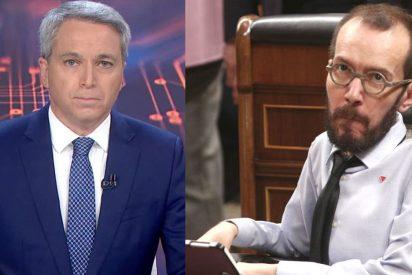 """Echenique se atrinchera en sus ataques a Vicente Vallés y a la prensa porque """"tienen capacidad para hacer política"""""""