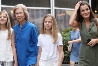 Vengativa filtración: grave riña entre Don Felipe, Doña Letizia y la Reina Sofía por la Princesa Leonor