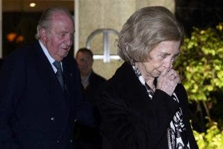El dramático final de la Reina Sofía: se derrumba desahuciada de Palacio entre llantos y un desmayo