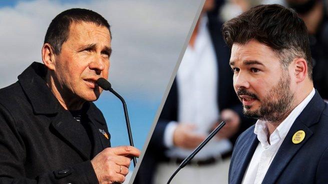 Arnaldo Otegi y Gabriel Rufián se embolsarán casi un millón de euros del sufrido contribuyente español