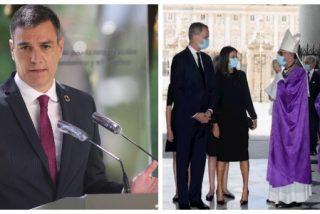 Sánchez tiene miedo a ser abucheado en las calles: Moncloa lo esconde detrás del atril para no dar la cara ante las víctimas