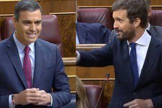 """Casado baja de los cielos a Sánchez tras la 'performance' de los aplausos en Moncloa: """"España no está para ceremonias de autobombo"""""""