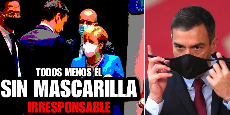"""Esta es la pésima imagen que deja Sánchez en Europa en un momento crucial: """"¡Vanidoso, impresentable!"""""""