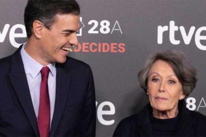 La RTVE de Rosa María Mateo tiene el triple de empleados y cuesta más que Atresmedia y Mediaset pero está hundida en audiencia