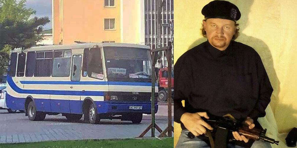 Un hombre violento y armado secuestra un autobús con 20 personas en Ucrania