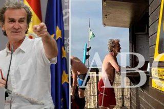 Mano de palos contra Fernando Simón por celebrar que aumente la ruina del turismo al no venir a España ni belgas ni británicos