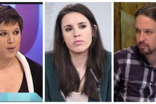 El Quilombo / Irene Montero, ¿exigir taparse el escote a una tertuliana para no molestar a los iraníes es o no es violencia machista?