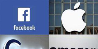 Amazon, Apple, Facebook y Google enfrentan acusaciones de monopolio mientras aumentan sus beneficios en la pandemia