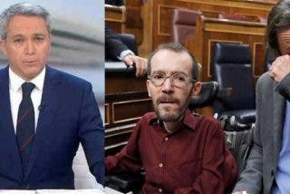 Vallés no se amilana por haber sido señalado por el panfleto de Podemos y da con la mano abierta a 'Echeminga' por mentir en el 'caso Dina'