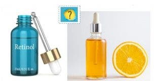 ¿Se puede usar juntos retinol y vitamina C?