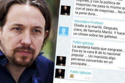 Una nueva serie de pantallazos hunde a Iglesias al confirmar que fue Dina quien difundió sus mensajes machistas
