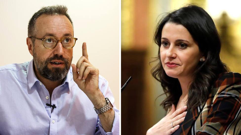 """Girauta se encara con el marido de Inés Arrimadas por considerarle un """"oportunista de la política"""": """"Vaya, ¿queréis que hablemos?"""""""