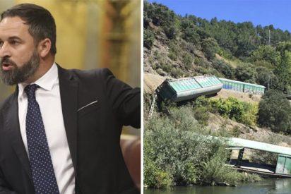 """Abascal 'zarandea' a la presidenta de ADIF por tirar vagones al río: """"Ni los verdes, ni los progres, ni Público criticarán esta cacicada"""""""