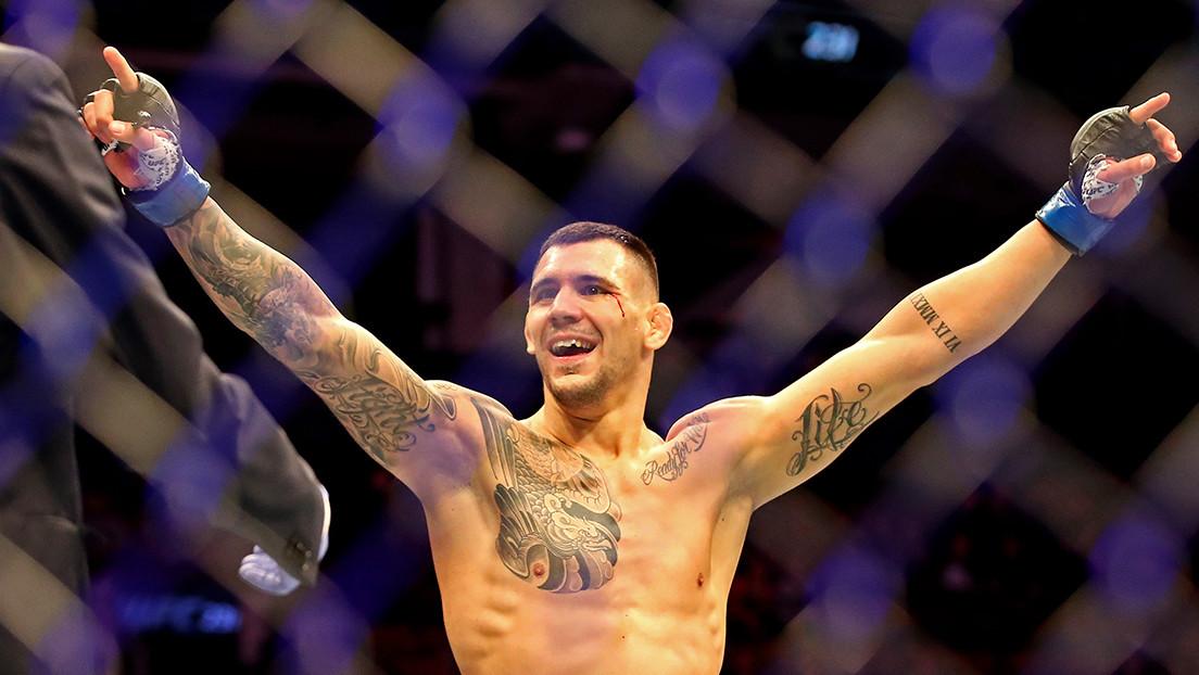 Aleksandar 'Rocket' Rakic gana la pelea estelar de la UFC con 'dominio total' sobre Anthony 'Lionheart' Smith