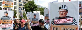 Más de 30.000 personas marchan desafiantes por Berlín contra la 'dictadura del coronavirus'