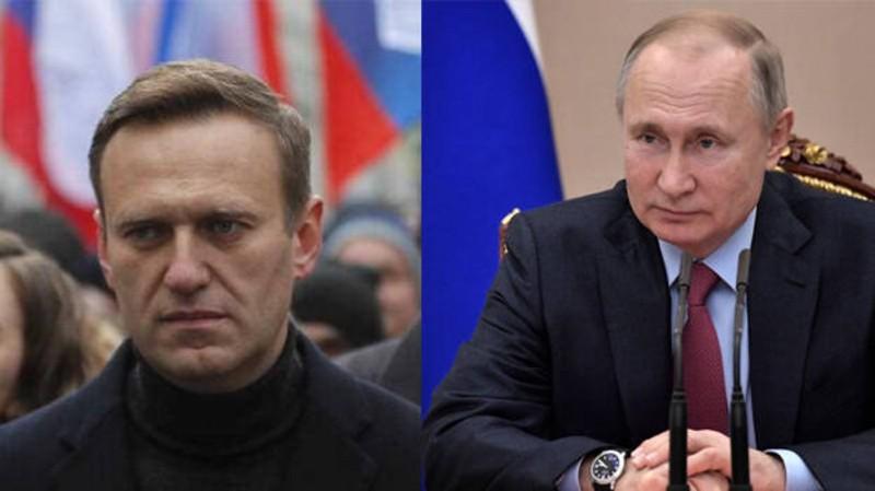 Alexei Navalny reta a Putin desde prisión: desvela una trama de corrupción de 1.400 millones