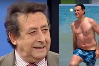 Alfonso Ussía amarga las vacaciones de Pedro Sánchez con solo 10 palabras