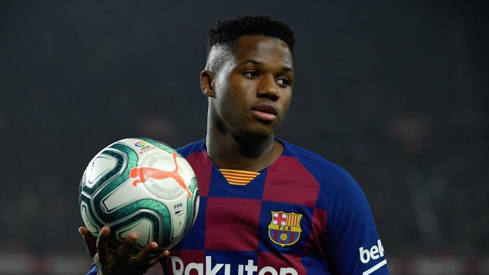 Bomba en el Barça: la tajante decisión de Ansu Fati que lo enfrenta a Messi