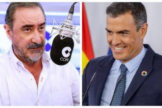 """Carlos Herrera y el 'Aló Presidente' edición verano: """"Una hora y media de este tipo para no decir nada"""""""