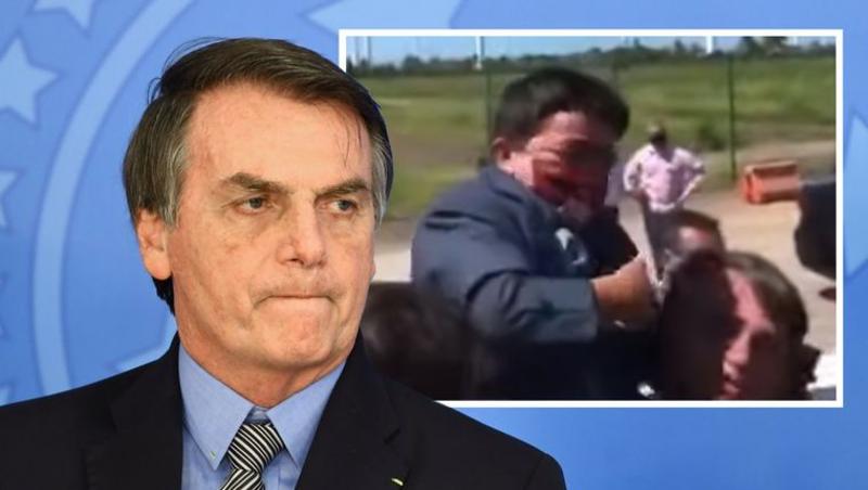 Bolsonaro coge en brazos a un enano creyendo que es un niño y la red se parte de risa