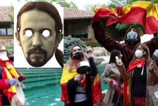 'Caceroladas Iglesias': los ciudadanos de la bandera española pueden con Marlaska y con los piquetes de Podemos