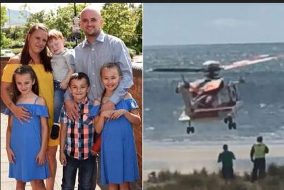 Un padre fallece al evitar que sus tres hijos murieran ahogados en el mar