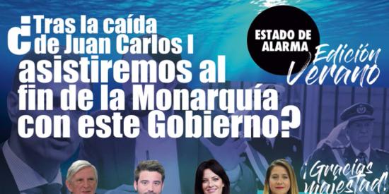 TERTULIA / La izquierda se cobra la cabeza de Juan Carlos I con la complicidad de Sánchez