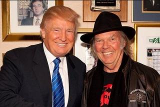 El mítico Neil Young demanda a Donald Trump por usar su música en mítines