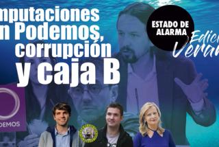 TERTULIA / Imputaciones en Podemos, corrupción, sobresueldos y caja 'B'
