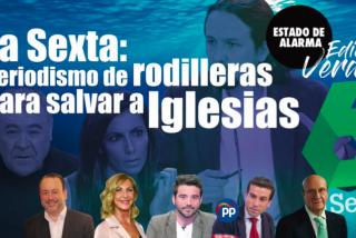 TERTULIA / Periodismo de rodilleras para salvar a Iglesias de las corruptelas de Podemos