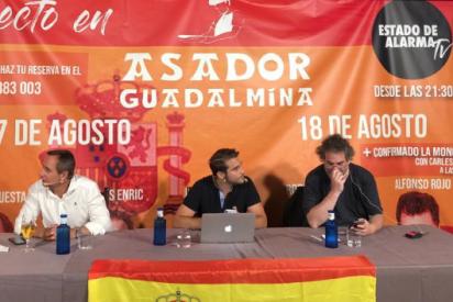 'Estado de Alarma' bate récord de audiencia tras la censura de YouTube y triunfa en el Asador Guadalmina