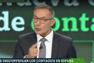 Hilario Pino recita en laSexta Noche el argumentario de Moncloa para ocultar el descontrol de la pandemia