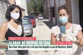 El calvario de una periodista de Telecinco: 'okupan' su vivienda en Madrid y le exigen 1.500 euros