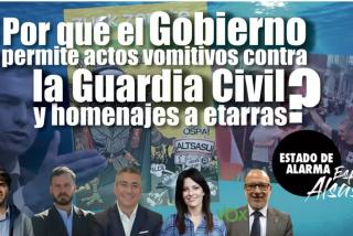 TERTULIA / ¿Por qué el Gobierno acabó permitiendo el vomitivo acto de Alsasua contra la Guardia Civil?