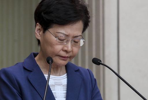 EEUU sanciona a Carrie Lam, la 'marioneta' de China frente al gobierno de Hong Kong
