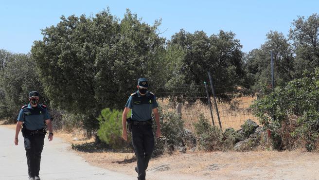 La Guardia Civil intenta identificar el cuerpo descuartizado de una mujer encontrado en Chapinería