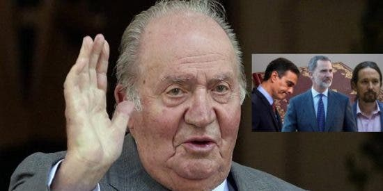 El Rey Juan Carlos viajó en secreto a Madrid en octubre... según 'Sálvame'