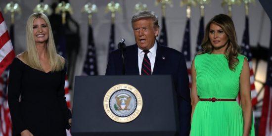 La 'mirada de la muerte' de Melania a Ivanka Trump incendia las redes