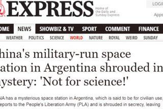 'Estación Espacio Lejano': La prensa europea se pregunta por los fines militares de la misteriosa base de China en el sur de Argentina