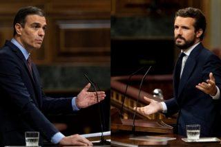 Sánchez tiende una nueva trampa a Casado para presionarle a negociar el Poder Judicial y el control de RTVE