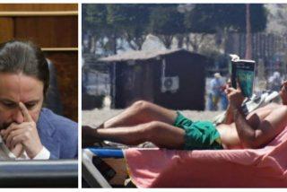 Sánchez, mudo y feliz en su tumbona de Canarias ante el réquiem electoral que se avecina en Unidas Podemos