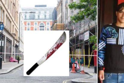 Asesinan a machetazos a un adolescente en pleno centro de Londres