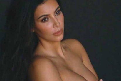 El atrevido topless de Kim Kardashian que deja mucho a la vista