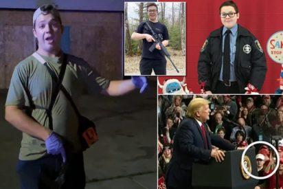 """Trump defiende al adolescente detenido por matar a dos manifestantes en Wisconsin: """"Se cayó y le atacaron"""""""