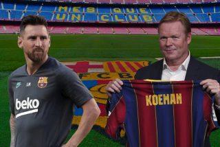 """Pánico en el Barça: Suárez se va y Messi le dijo a Koeman que se siente """"más afuera que dentro"""""""