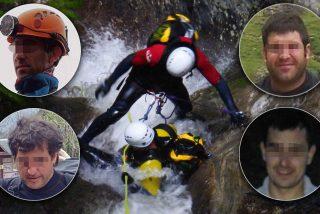 Tres españoles muertos y uno desaparecido en un barranco de Suiza