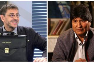 ¿Le preguntarán a Monedero en las televisiones por los escándalos pedófilos de su amigo Evo Morales?
