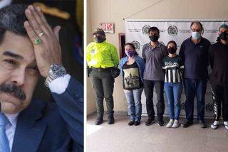Golpe a la narcodictadura chavista: arrestan a seis miembros del Cártel de los Soles en Colombia y el cabecilla es un español